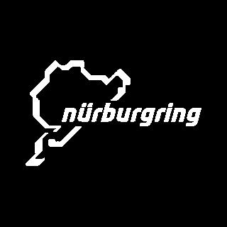Nürburgring Logo in weiß für Referenzen