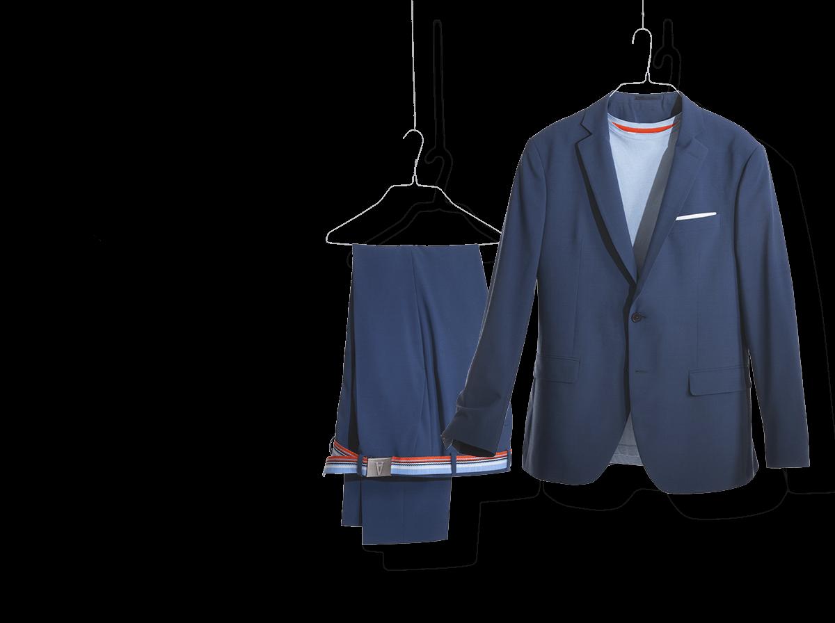 Blaue und hochwertige Dienstkleidung für die Autostadt
