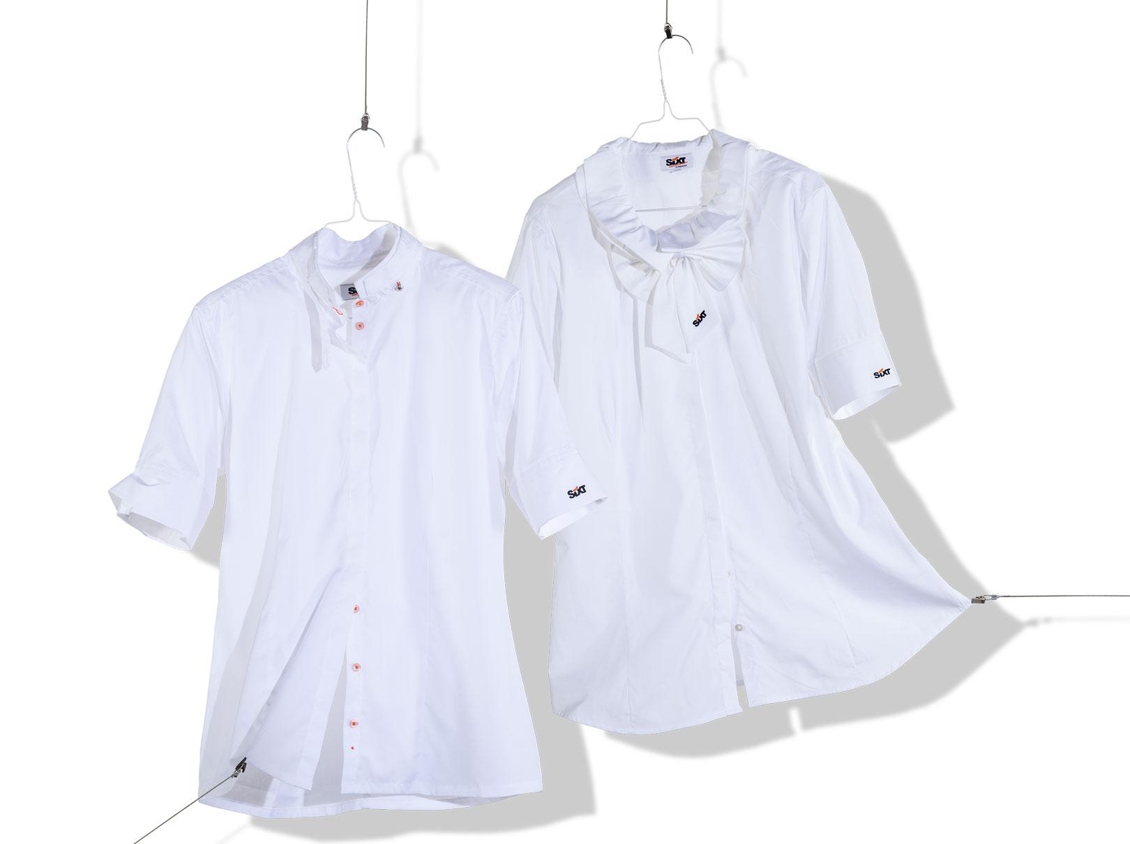 Bluse und Hemd für den Dienst bei Sixt